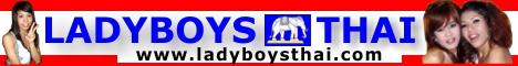 Ladyboys Thai Logo Banner